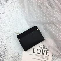 新款2018硬钱包ulzzang钱包短款小众设计师钥匙包零钱包ins少女心