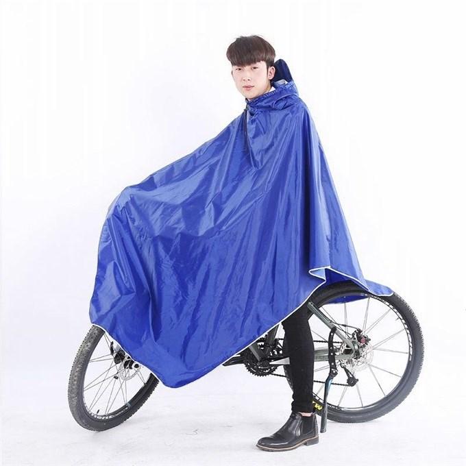 成人电动车雨披自行车雨衣单人摩托车雨披男女学生时尚山地车雨披