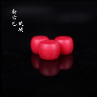 西藏古法工藝新雪巴珠夏爾巴雪巴琉璃配珠佛珠金剛星月菩提配珠