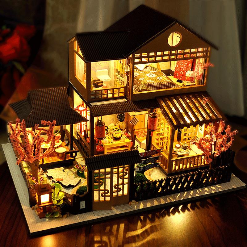 音乐盒八音盒木质天空之城生日礼物女生送男友闺蜜浪漫实用小惊喜