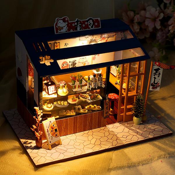 巧之匠diy寿司店手工制作模型玩具,30元左右送朋友小礼物