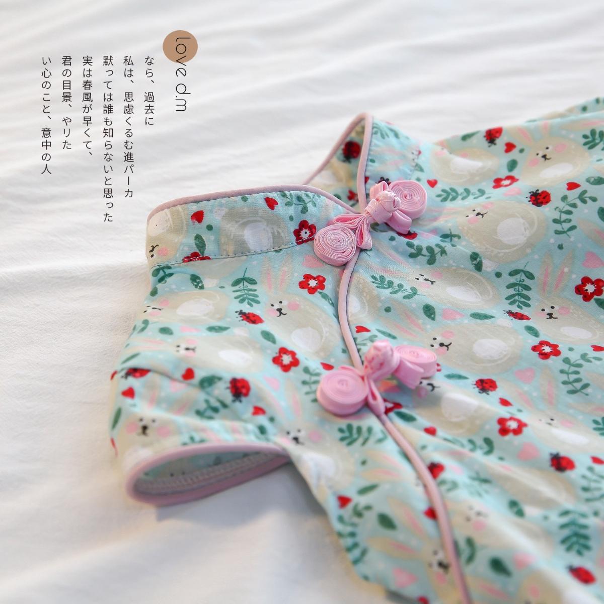 限100000张券女宝宝旗袍公主连衣裙子女童0汉服