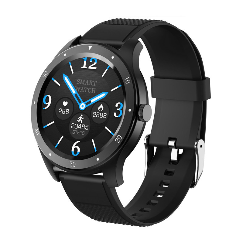 Yijun smart Watch Bracelet Heart rate blood pressure round screen full touch screen super long standby waterproof movement smart call reminder wechat anti harassment applicable to vivo Apple Huawei Xiaomi mobile phone
