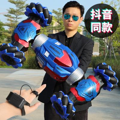 手势感应变形遥控车四驱手表特技扭变车儿童玩具男孩超大越野汽车