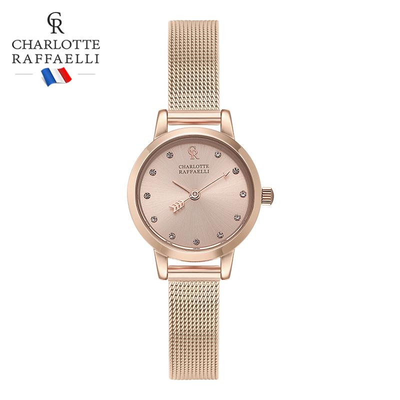 夏洛特cr法国正品钢带女士dw女表11月04日最新优惠