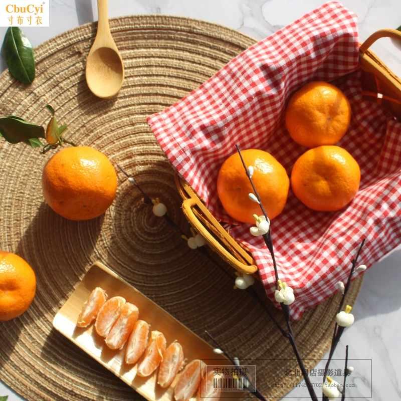 复古风美食背景套装拍照干货摄影道具农产品摆件海鲜拍摄背景布