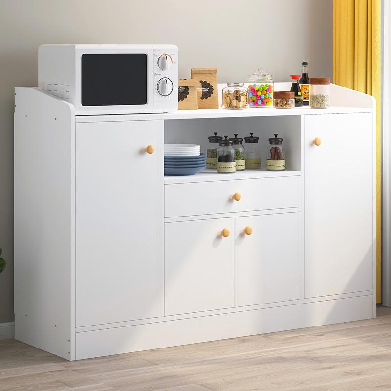 餐边柜厨房碗柜简易家用置物架储物柜多功能客厅餐厅橱柜简约现代