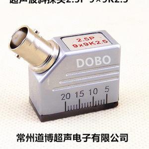 超声波斜探头2.5P9×9K2.5通用型探伤仪探头UT金属探伤检测换能器