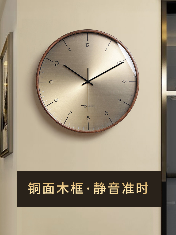 表挂墙网红创意北欧挂钟客厅现代简约时钟时尚轻奢静音大气家用