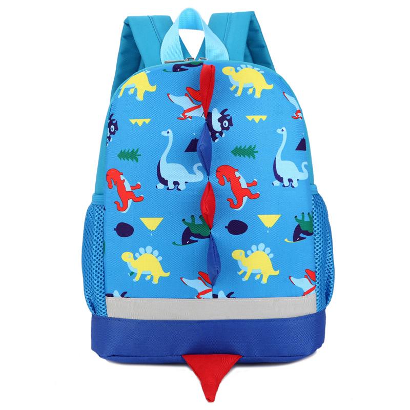 可爱恐龙幼儿园书包男女孩潮童背包3-4-5岁6儿童中小班旅游双肩包
