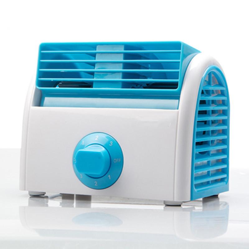 热销0件假一赔十生床上台式无叶插迷你空调扇电扇
