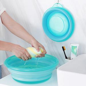 优质可折叠脸盆家用洗脸洗衣伸缩盆洗脚盆便携式旅游户外盆洗菜盆