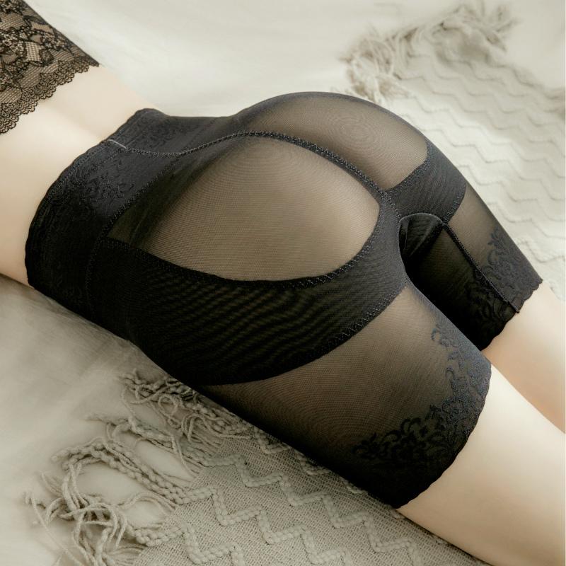 高腰提臀内裤女士翘臀无痕产后束腰收胯盆骨假胯宽矫正收腹安全裤