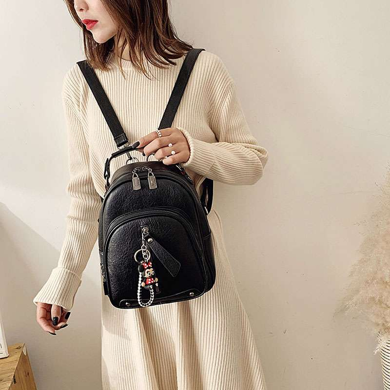 Backpack womens small bag womens bag 2020 new fashion multi-purpose backpack Korean versatile fashion backpack small shoulder bag