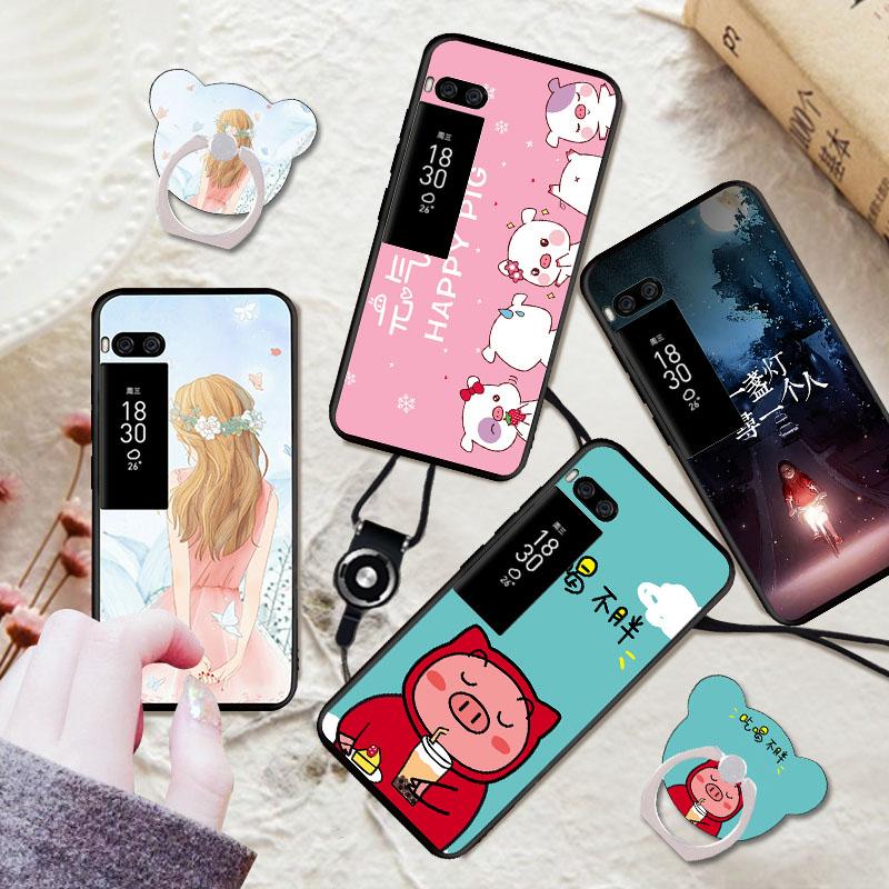 魅族Pro7手机壳个性全包边防摔保护套魅族Pro7S硅胶软壳网红可爱新款保护壳手机套图片