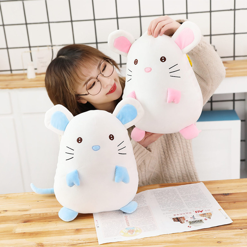 2019 new soft adorable mouse doll cuddly pillow plush toys