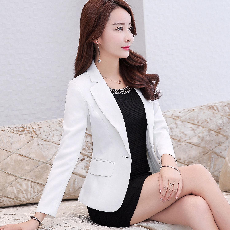 2020年春秋の小さいスーツの上着の女性の韓版の女装の気質のファッション的なスーツの女性の春季の働く服の女性のスーツ