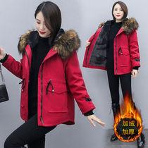 2020冬季新款大码女装棉服女宽松显瘦加绒加厚派克服短款外套女潮