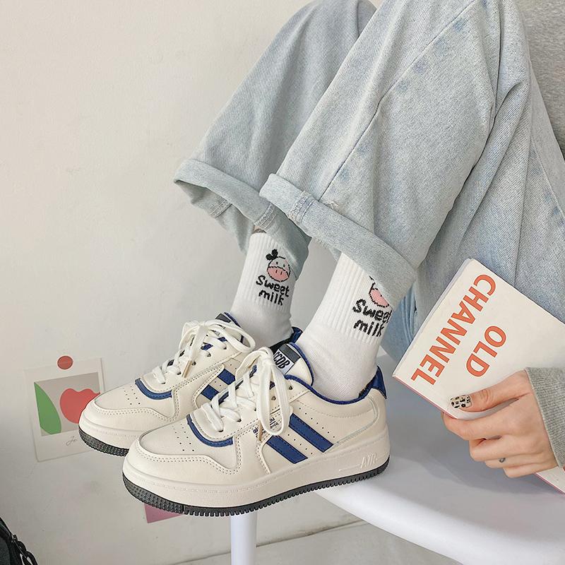 春秋2021年新款百搭女鞋子小白鞋质量怎么样
