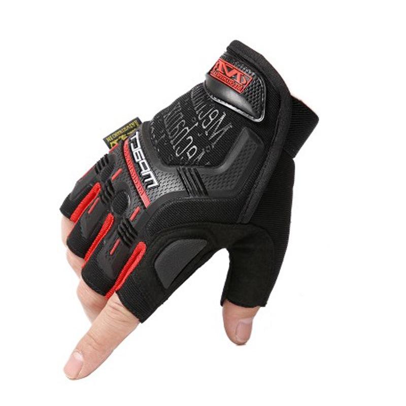 CSGO游戏周边实物战术耐磨防滑手套户外骑行摩托车军迷半指手套