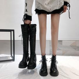马丁靴女夏季薄款皮靴过膝长靴夏款显瘦骑士夏天可穿长筒高筒靴夏图片