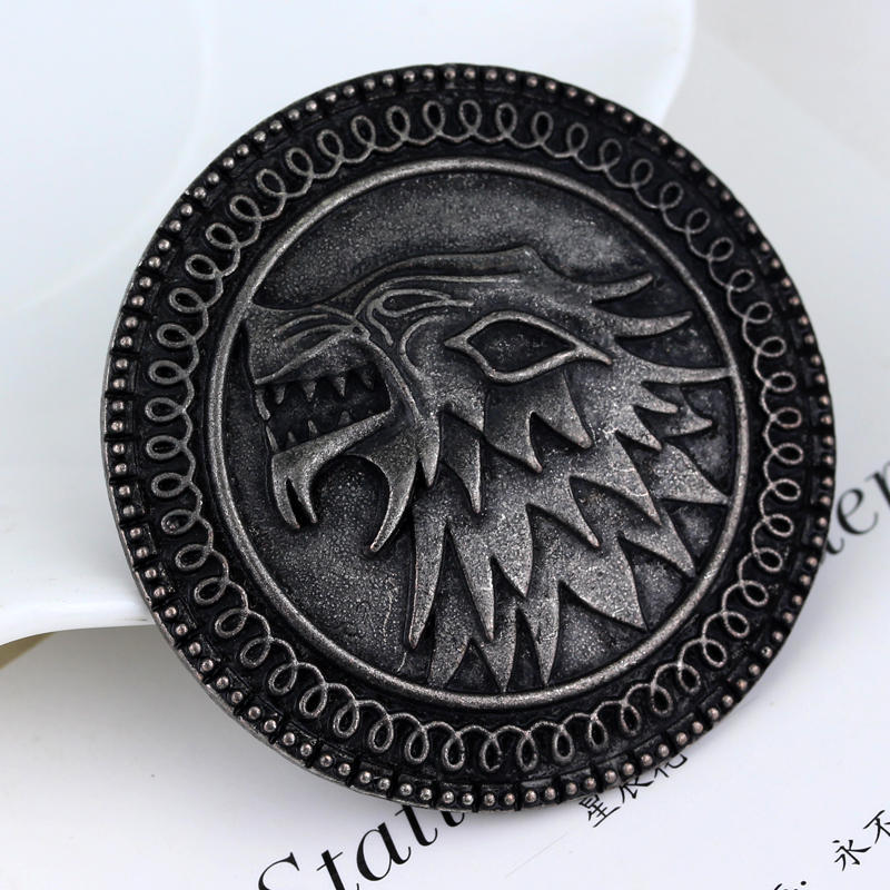 Brooch song of ice and fire