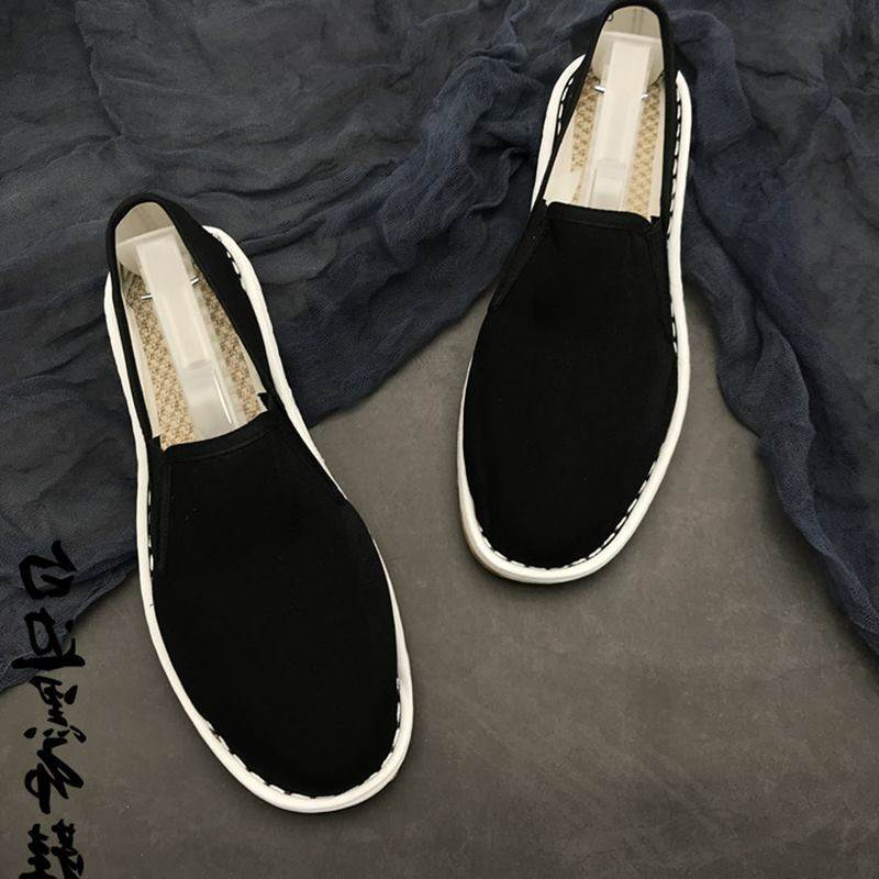 Fanke ~ 2019 spring, summer and autumn men and women fashion underworld handmade cloth shoes fashionable and breathable sleeve feet leisure Xishan trend