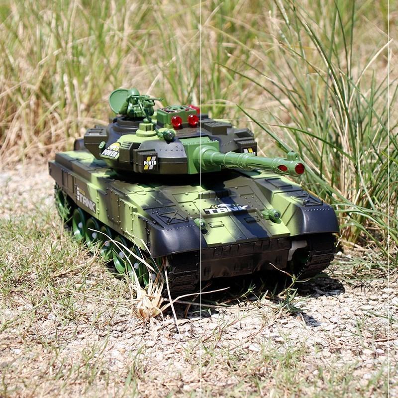 儿童世界坦克玩具车遥控器大型亲子可发射超级周边塑料履带式