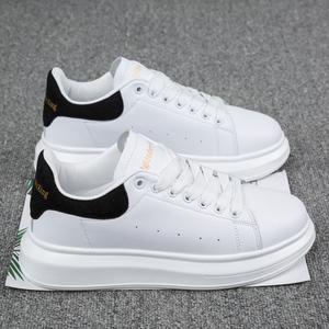 2021新款春季增高厚底运动小白鞋