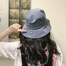 msmc A19123 刺绣笑脸渔夫帽