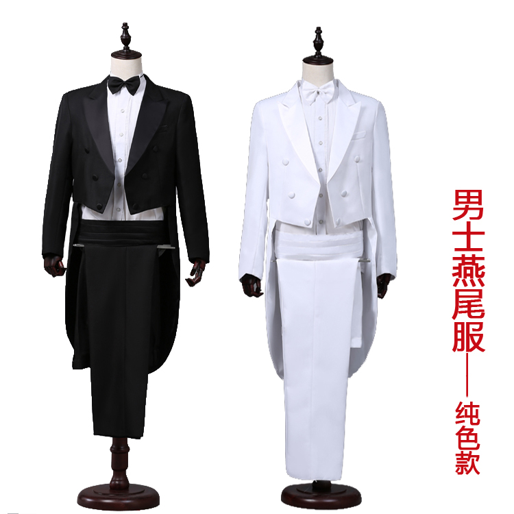 New style studio mens costume magician tuxedo show conductor bel canto show dress mens dress suit new
