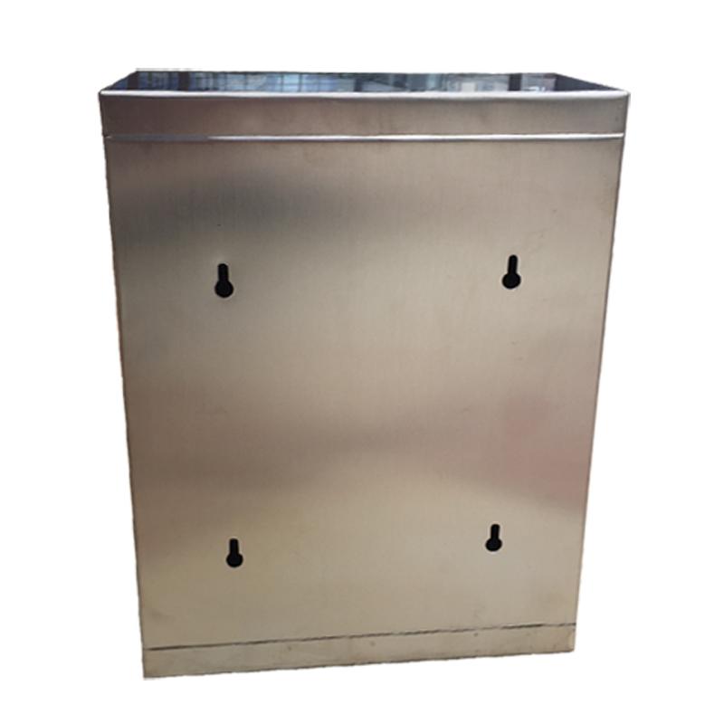 区选举便民服务意见奶箱定做锈钢带锁信报箱 特大号户外加厚不