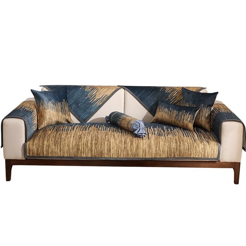 沙发垫简约现代四季通用布艺防滑加厚坐垫客厅组合全包沙发套罩巾