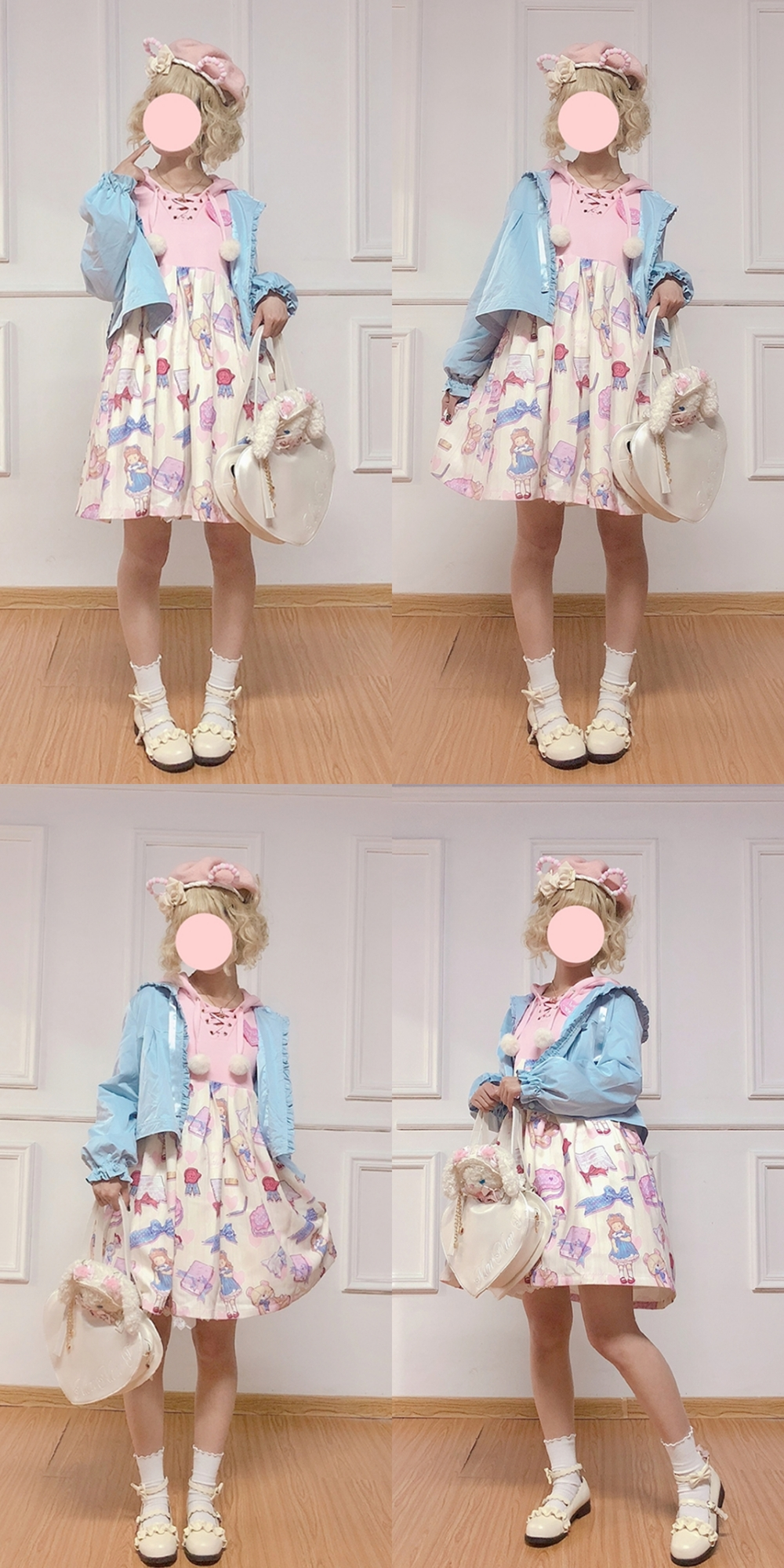 [to be delivered after the year] Wei dress is a lovely girls Lolita Dress
