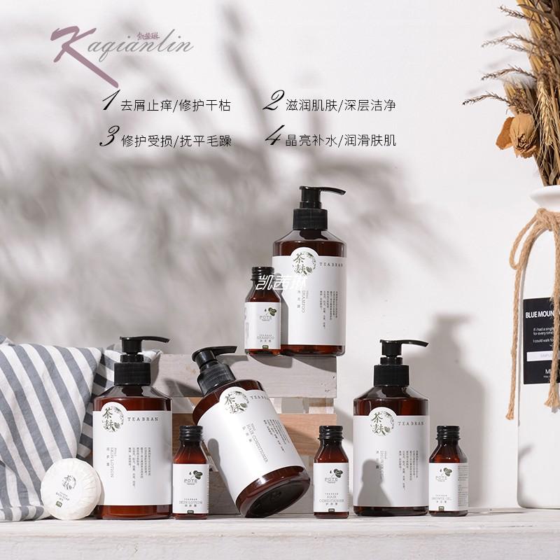 Botti pote shampoo and Bath Tea bran series 350ml home stay hotel club brand washing products in Australia