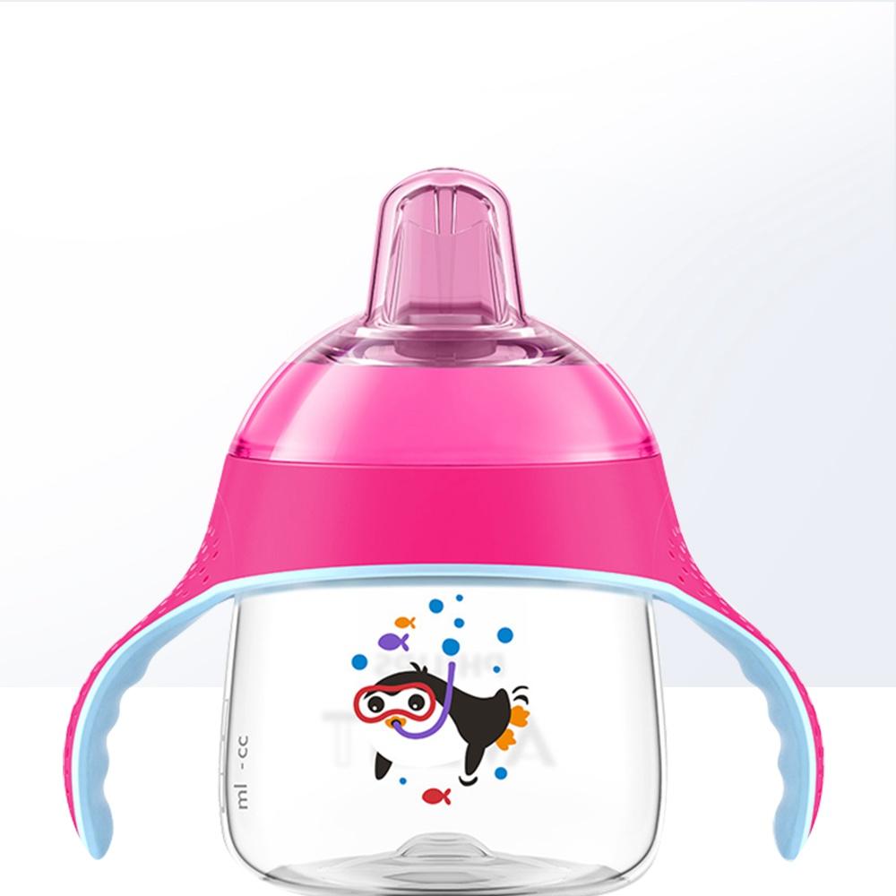 日本韩国韩国日本宝宝直韩国日本鸭嘴学饮杯带安怡日本七安韩国鹅