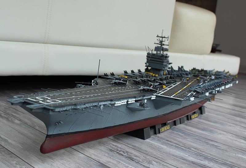 小号手拼装航母模型 1/350仿真军舰企业号航空母舰船模 成人玩具