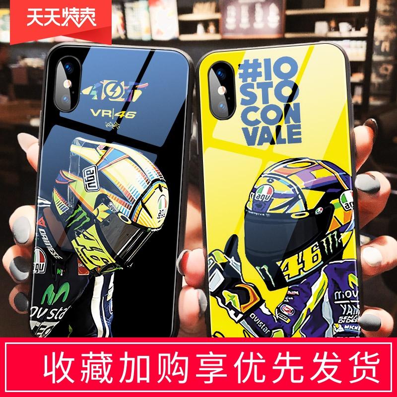 罗西摩托车iphone11promax手机壳王一博苹果XSMAX潮牌VR46S平