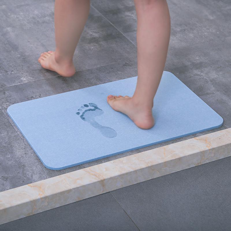家用地垫硅藻泥吸水脚垫防滑速干硅藻土浴室卫生间厕所门口防水垫