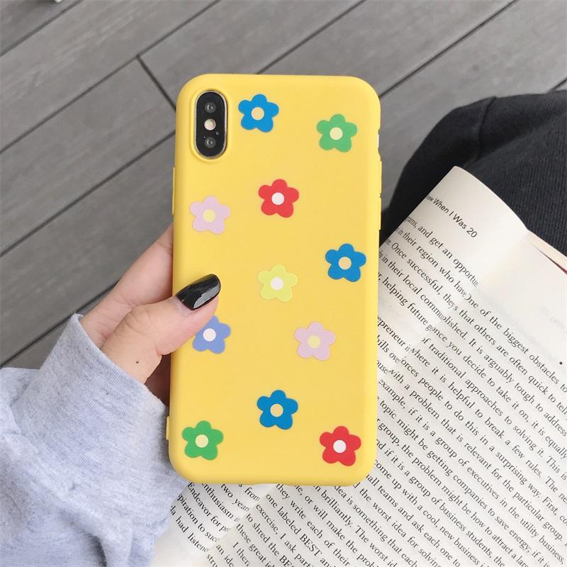 包邮泫雅风小花oppoa5 a3 a7硅胶手机壳