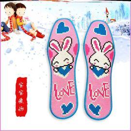 真思语鞋垫十字绣兔子正常发货全棉双股线成品纯手工出售包邮新款