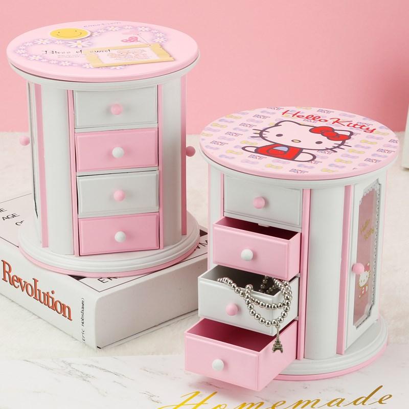 送女生饰品音乐盒八音盒女孩子生日礼物儿童精品装饰小摆件情人节