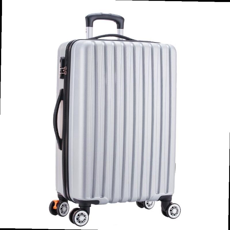 。博兿(BOYI)拉杆箱24英寸防刮耐磨万向轮行李箱男女轻盈欧洲~款