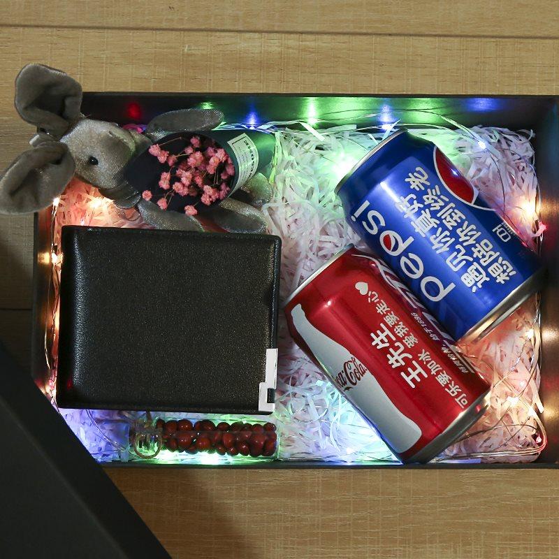 围巾男生日礼物男生送男友给男朋友惊喜特别情侣异地恋圣诞节