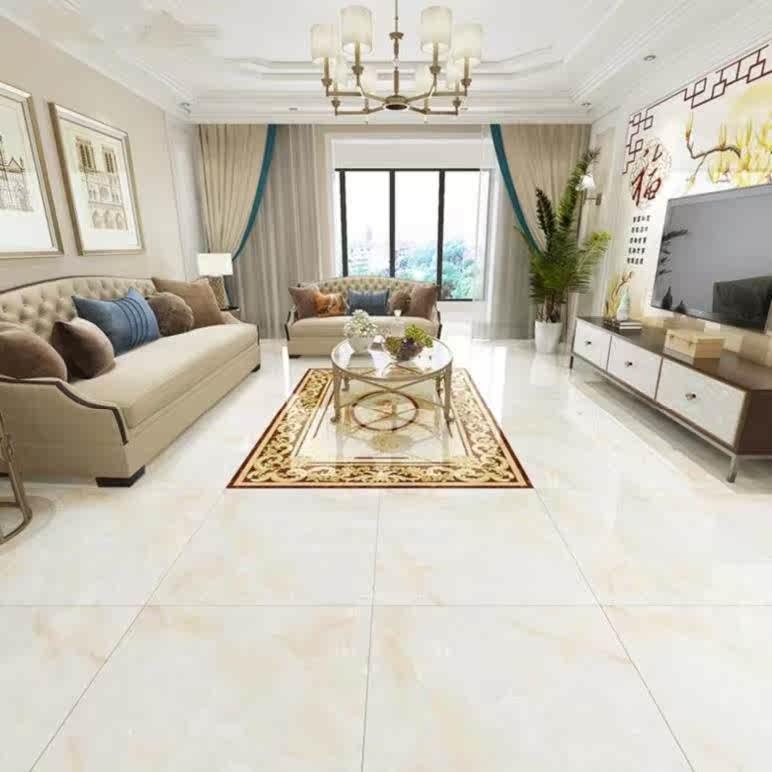 房间酒店地砖洗手间卧室抛光欧式600石纹过道地花大气店面改造的