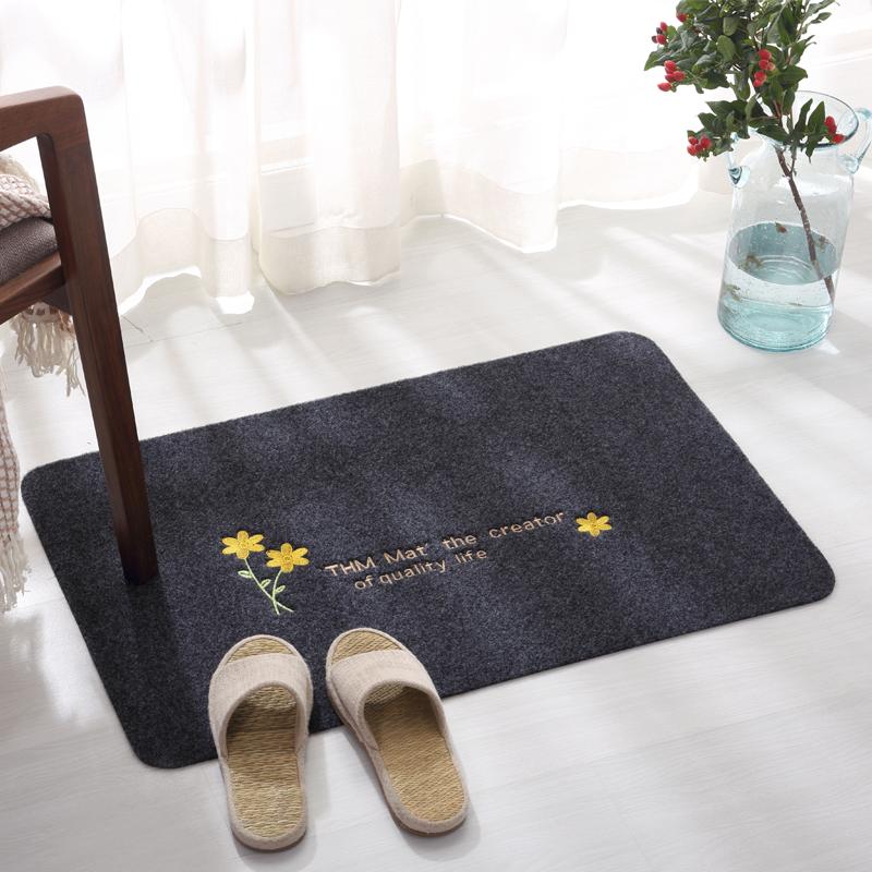 10月17日最新优惠进门地垫定制入户地毯门垫卧室厨房门厅卫浴吸水脚垫浴室防滑垫子