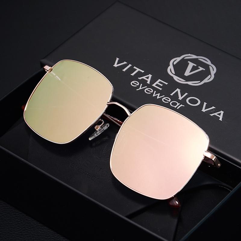 D family Sunglasses Women 2020 new fashion mens big face box Polarized Sunglasses anti ultraviolet net red glasses