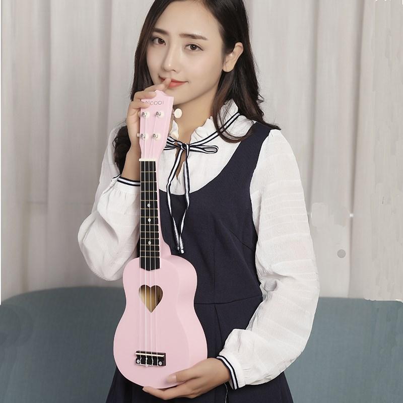 樱花琴尤克里里初学者学生成人女儿童男女生款可爱少女小吉他入门
