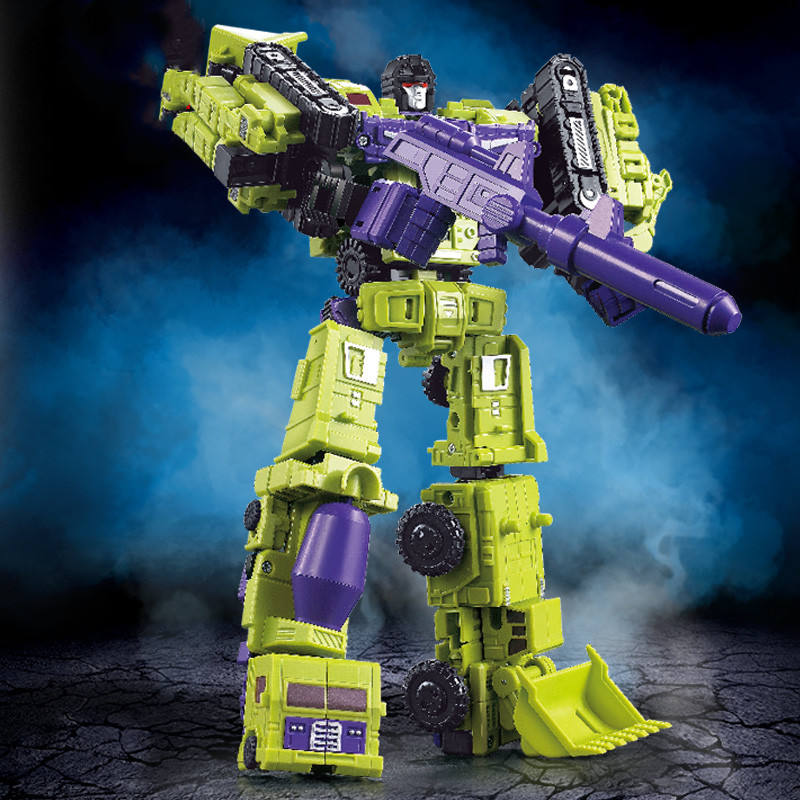 Deformation toy King Kong GT Hercules combination crane engineering Chewei will ant force Hercules alloy man