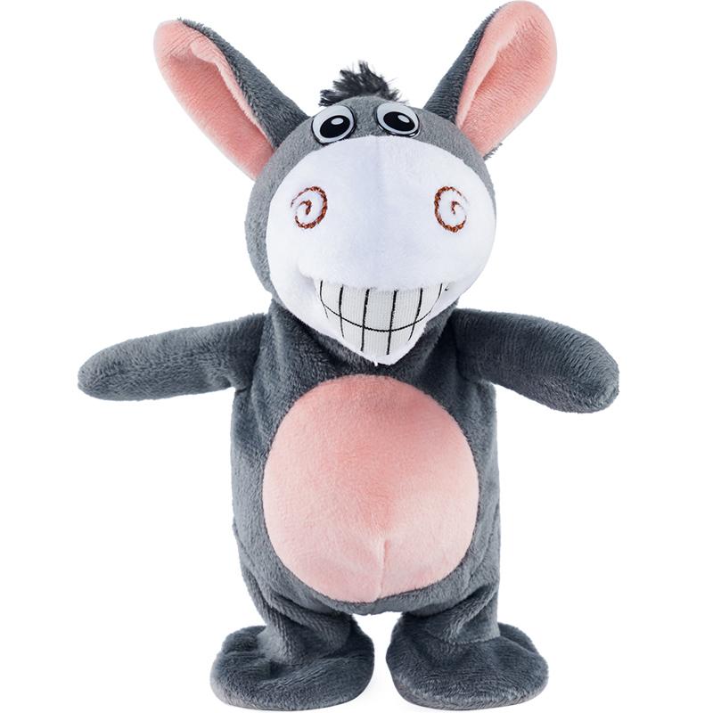 会学说话小毛驴抖音同款网红跳跳猪球儿童婴儿玩具女孩宝宝1-3岁6